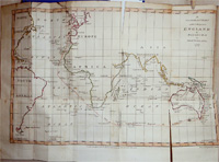 A General Chart of the Passage from England to Botany Bay in New Holland 1787