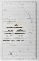 A chart of the track of the Scarborough on her homeward passage from Port Jackson on the Et. (East) coast of New South Wales towards China