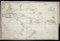 Chart of the Duff's Track in the Pacific Ocean 1797