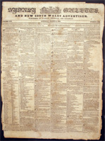 Sydney Gazette and New South Wales Advertiser, March 31st 1827