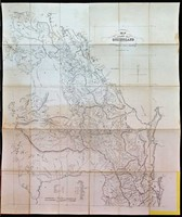 Map of the colony of Queensland